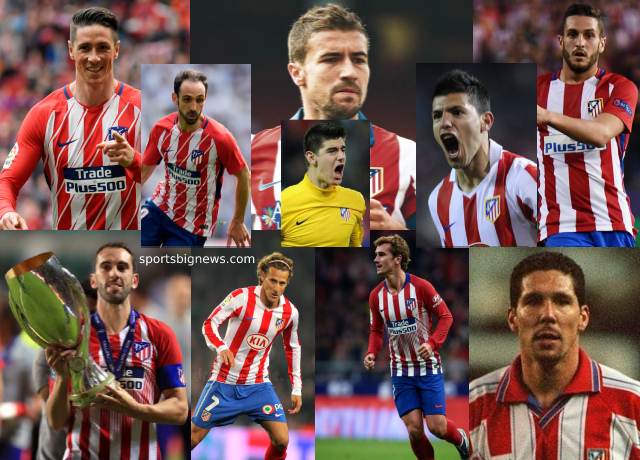 Top 10 greatest Atletico Madrid players of all time