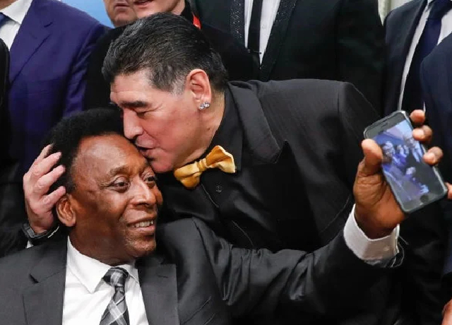 An unexpected thing Maradona once told Pele about Messi