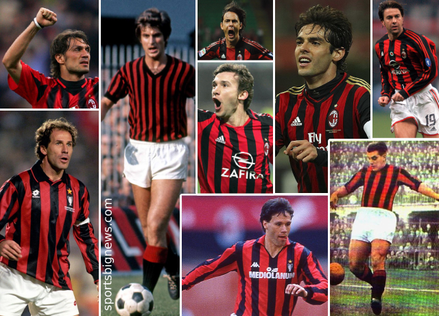 Top 10 greatest AC Milan players of all time