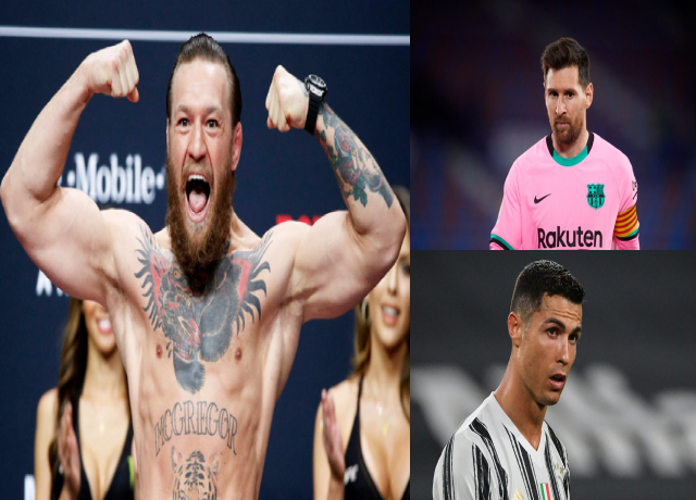 Conor McGregor beats Ronaldo and Messi in highest paid Athletes