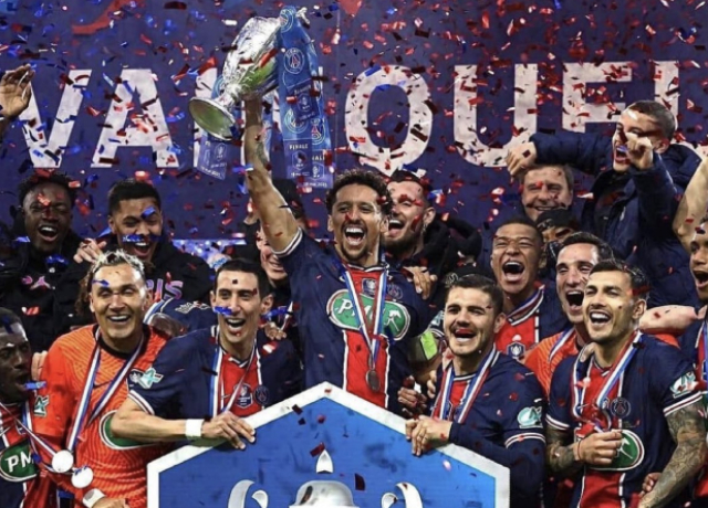 Mauro, Mbappe score to help PSG beat Monaco in French Cup final