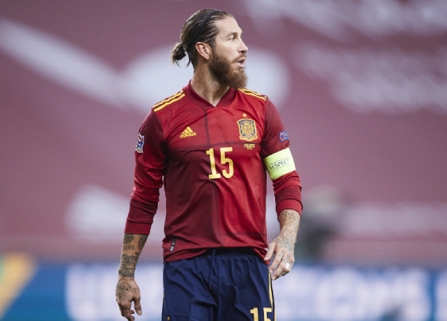 Sergio Ramos not included in Spain national team for Euros