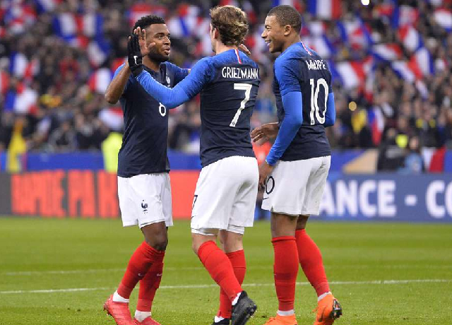 France attack could be a real problem for other teams