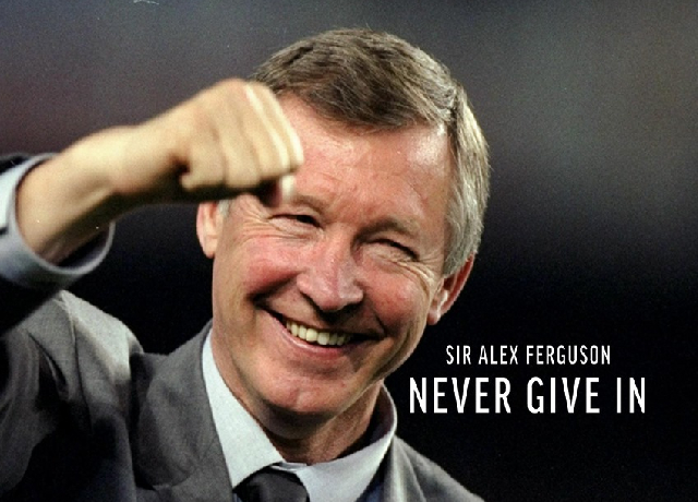 First look of the film - 'Sir Alex Ferguson: Never Give In'