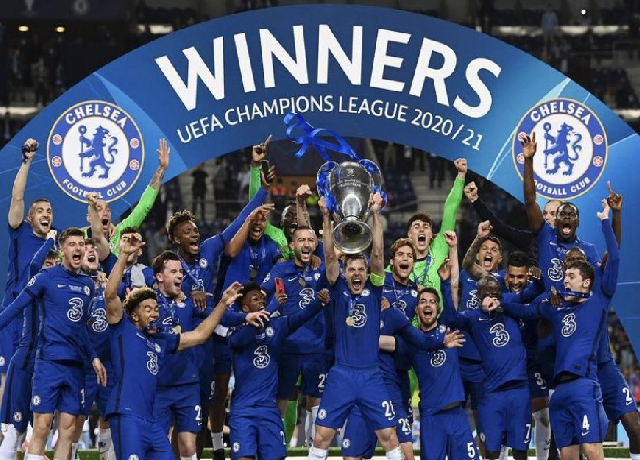 2021 UCL Final: Chelsea becomes champions after 9 years
