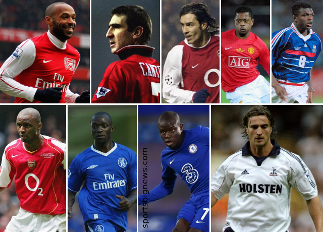 Top 10 greatest French players ever played in Premier League