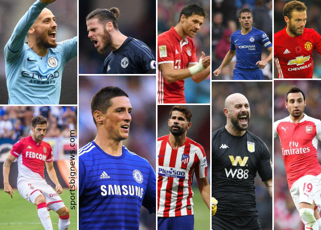 Top 10 greatest Spanish players ever played in Premier League