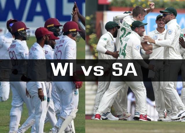 WI vs SA Test Series
