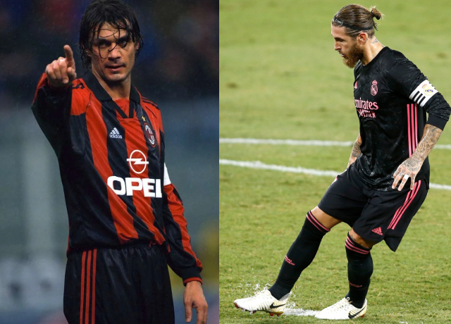 Who is the GOAT of defenders, Maldini or Ramos?