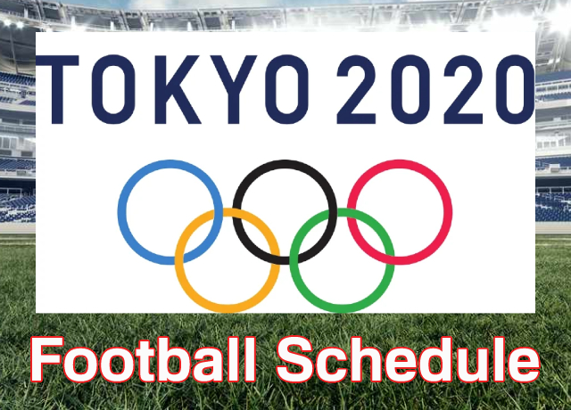 Tokyo Olympics 2020: Football schedule, fixtures, live streaming