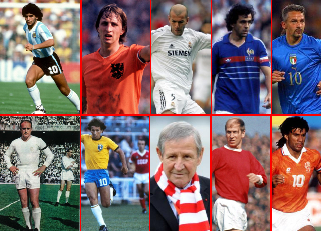 Top 10 Greatest Attacking Midfielders Of All time
