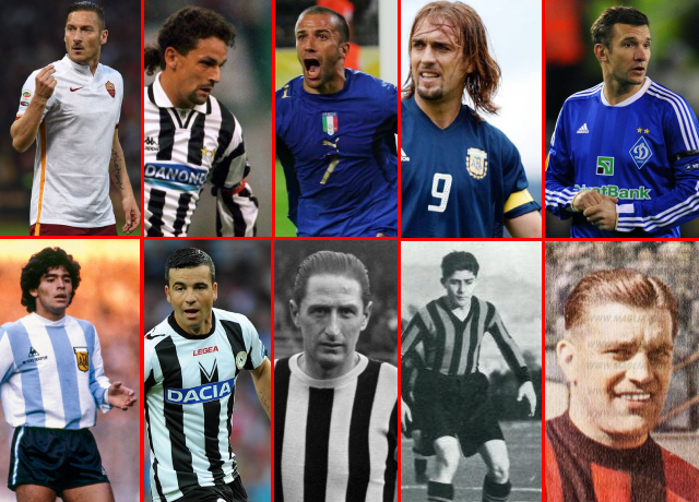 10 Greatest Strikers In Serie A History