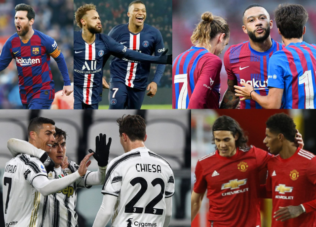 Ranking the top 5 best attacking trios in 2021/22 season