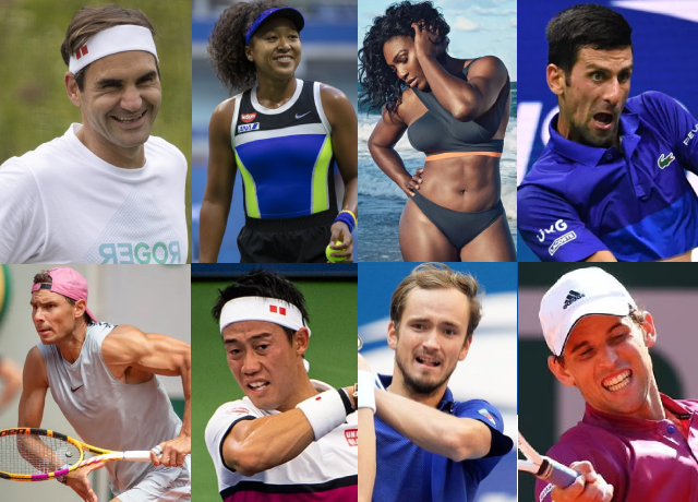 Highest Earning Tennis Players