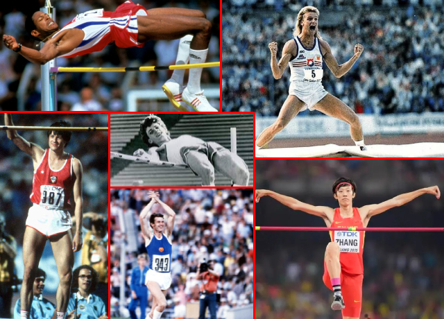 Top 10 Highest High-Jump Record Holders In History