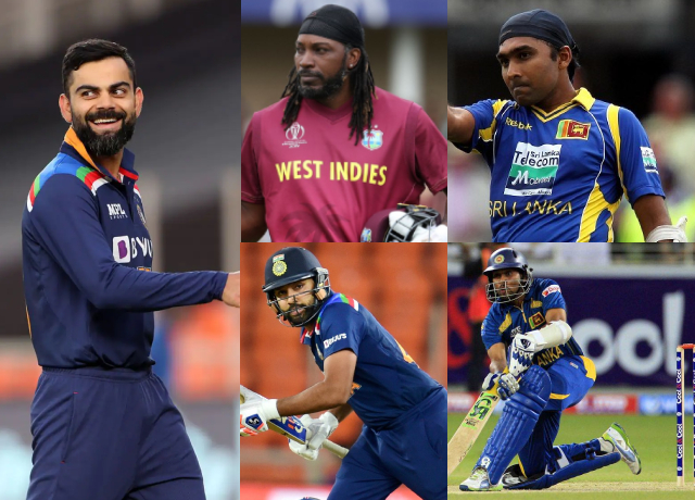 5 players with most number of fifties in T20 world cup History