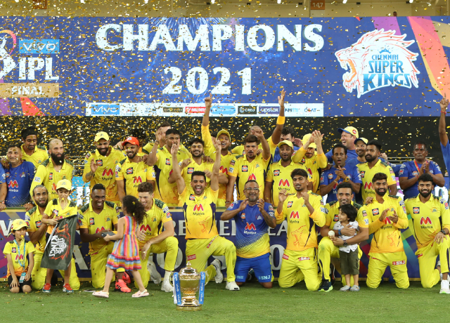 IPL 2021 Final: MS Dhoni leads CSK to fourth title