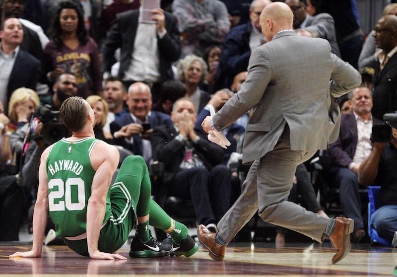 Celtics tumbles down futures board after Hayward injury