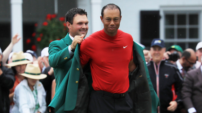 Tiger Woods grand slam odds