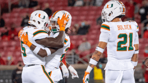 Bubba Bolden and Hurricanes face FSU