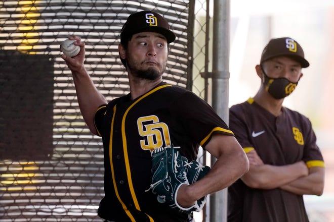 Darvish in San Diego