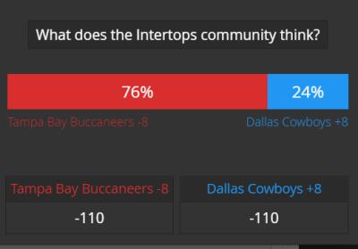 action report Bucs Cowboys