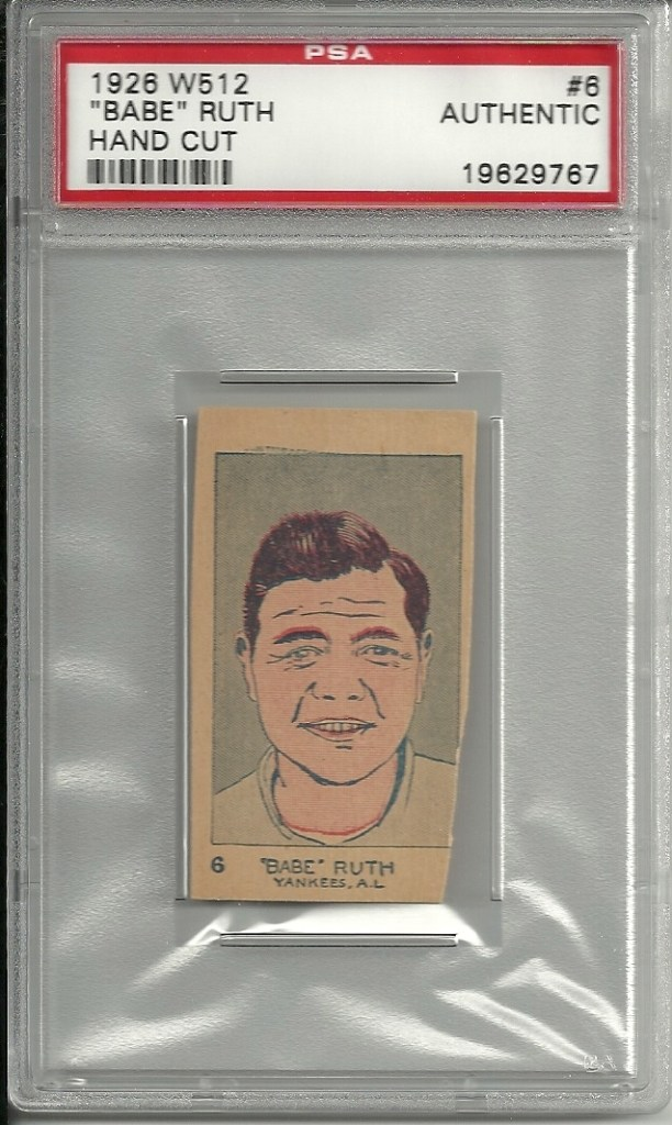 Vintage Vault: 1926 W-512 Strip Cards