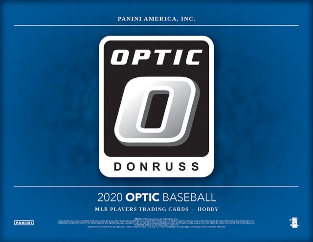 Pack Preview: 2020 Donruss Optic Baseball
