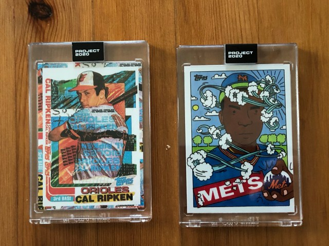 Topps Project 2020 Ripken Jr, Doc Gooden