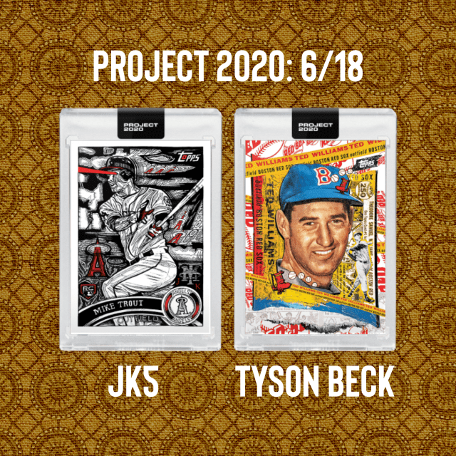 Topps Project 2020: 6/18