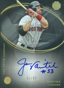 2016 Topps The Mint Jason Varitek Autograph GEM Mint 10