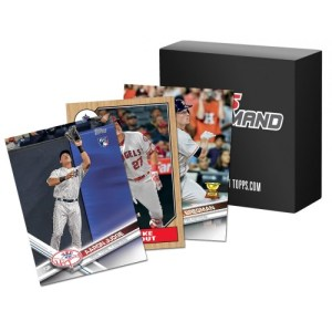 2017 Topps Mini Baseball Pack