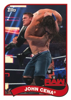 Blue Topps SLAM WWE The Miz//Baron Corbin SIGNATURE Survivor Series 2017