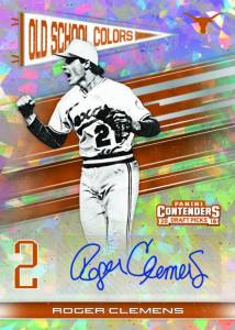 3e736db05 Old School Colors Signatures features autographs from former baseball  greats in their collegiate uniforms.