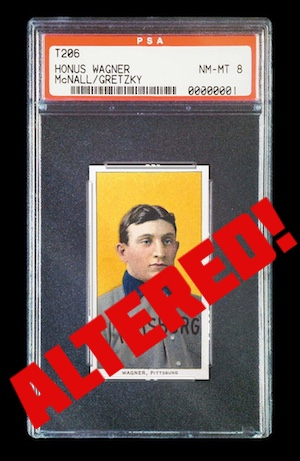 Alert Fake Trimmed Altered Graded Cards By Psa Or Bgs Sports Card Radio