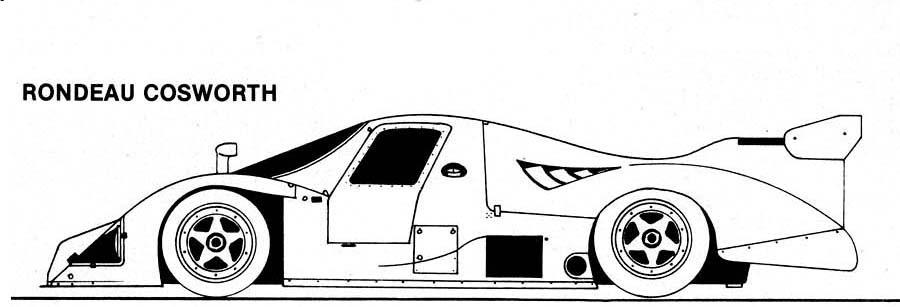 Sports Car Silhouettes