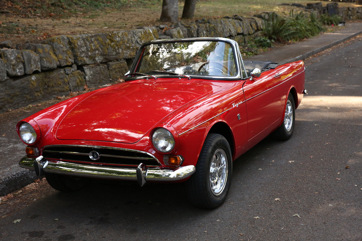 1965 Sunbeam Tiger Sports Car Shop