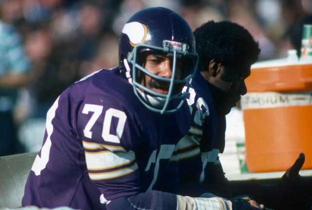 Jim Marshall of the Vikings