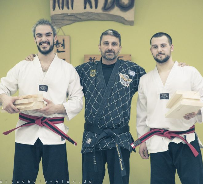 Taekwondopruefung Diamantis & Onur 2017-8275