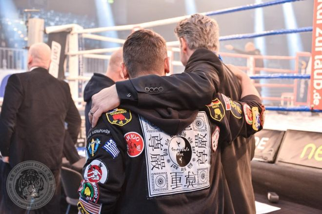 ran FIGHTING GALA Düsseldorf, WKU TitelFights mit Michael Smolik, Marie Lang und Juliane Werner