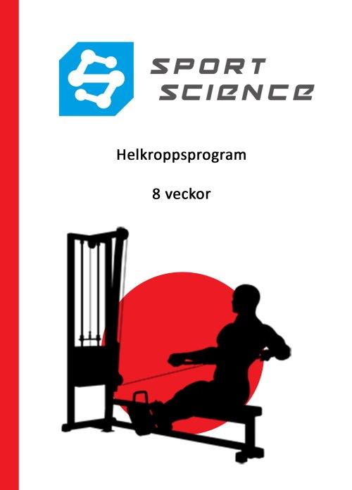 Helkroppsprogram - 8 veckor