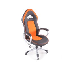 Orange Office Chairs Uk Baby Shower Couch Chair Fk Automotive Rx Racer Black Gsm