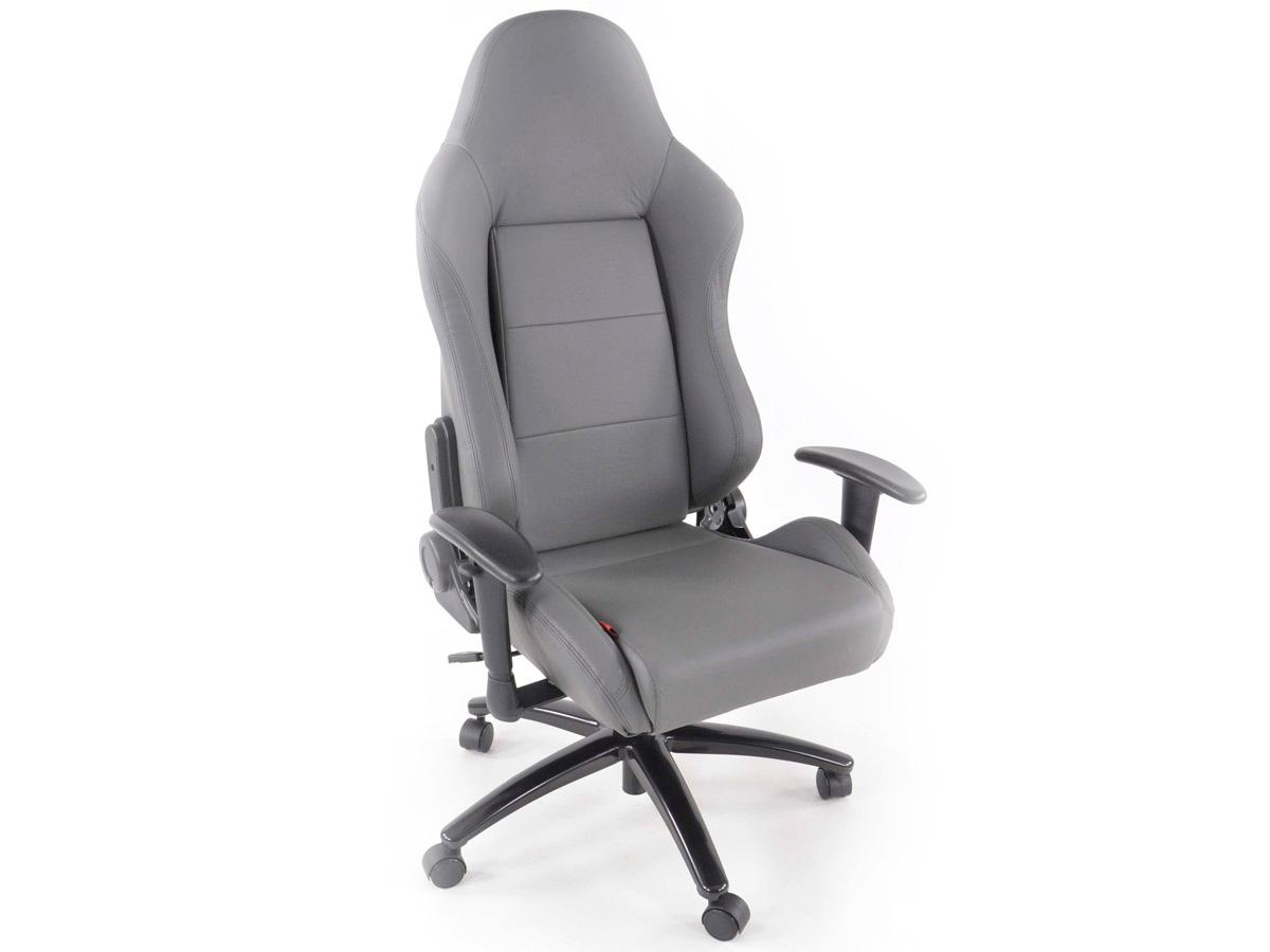 racing office chairs rolling shower for elderly fk automotive race director grey chair gsm