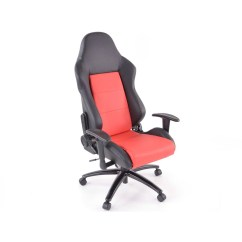 Racing Office Chairs Clear Desk Chair Ikea Fk Automotive Race Director Black Red