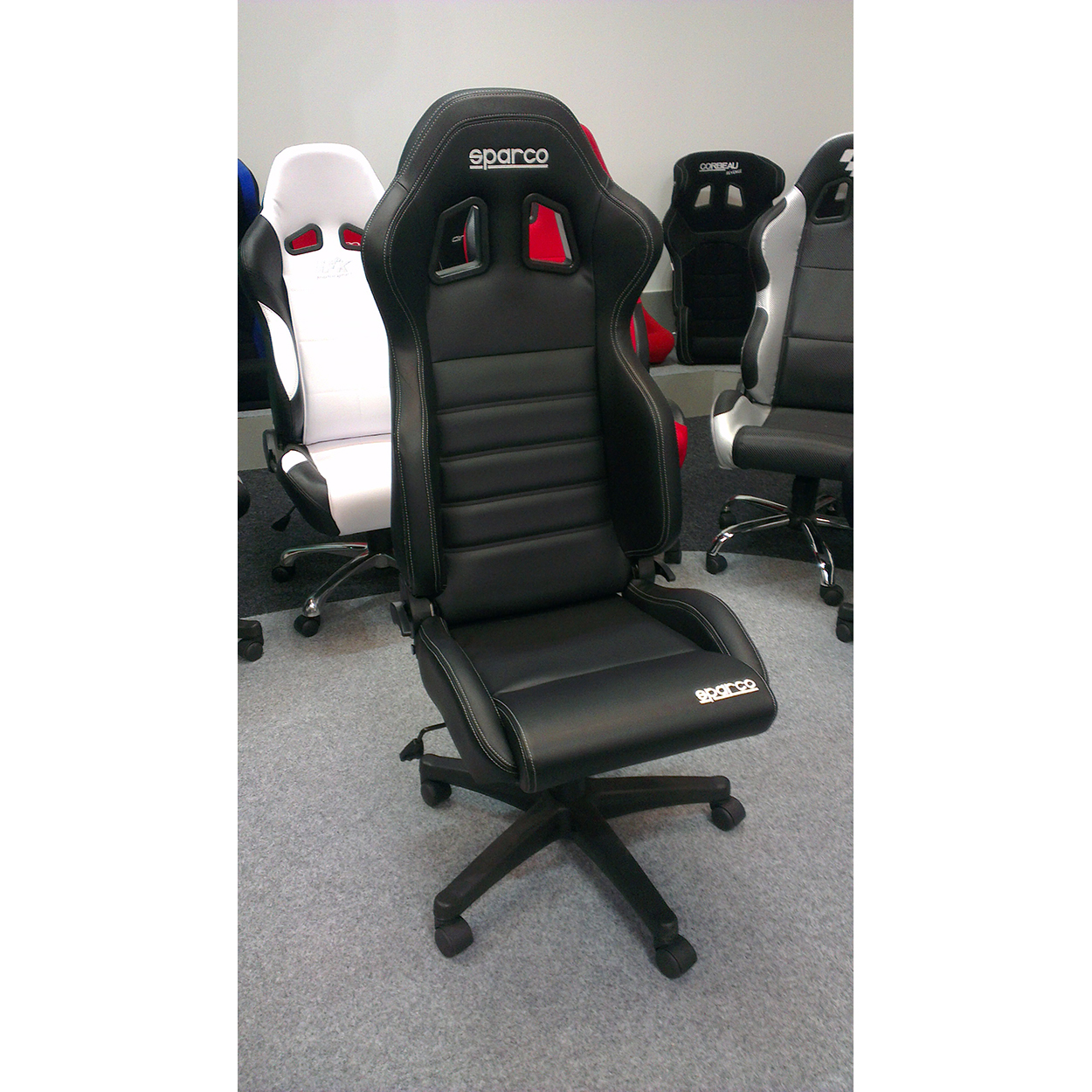 racing office chairs big lots club sparco r100 vinyl sports seat gsm sport seats