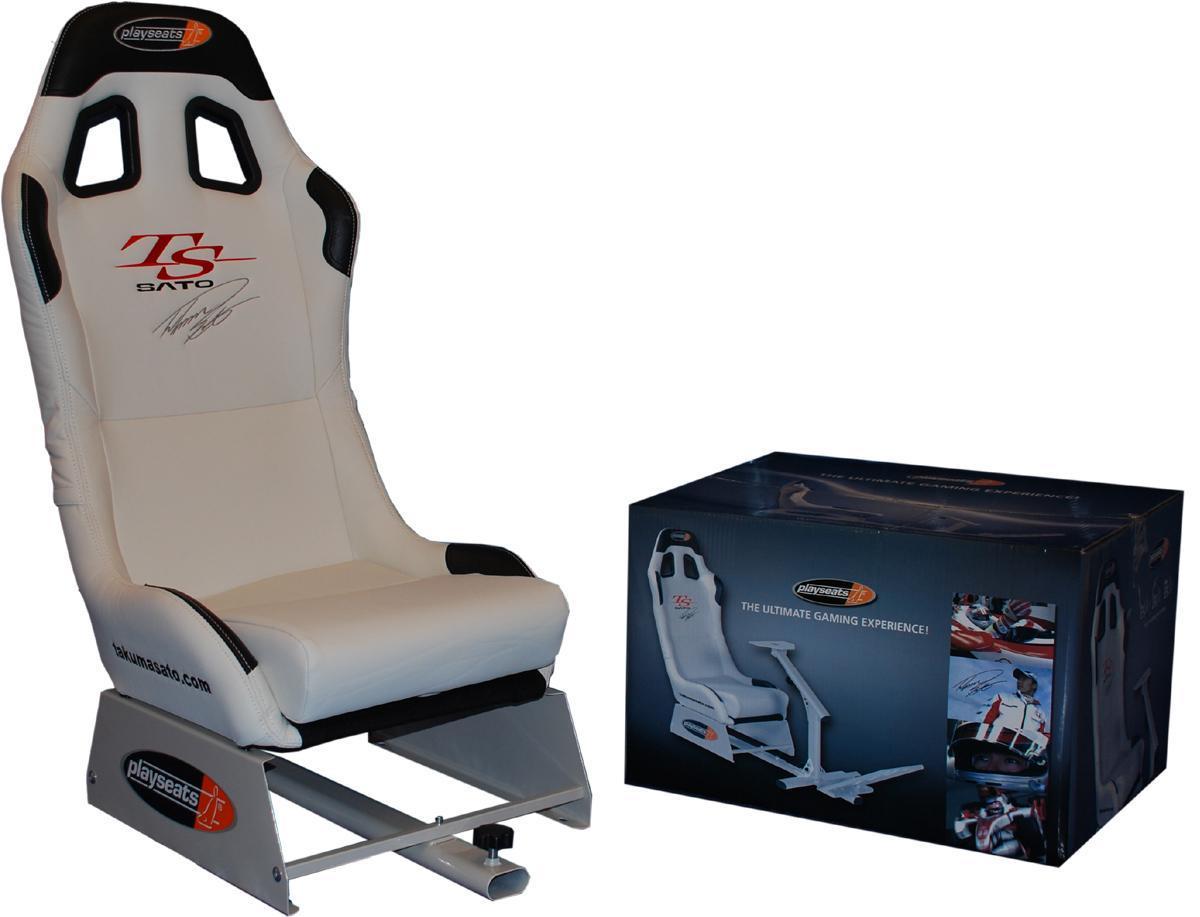 best gaming chair brands high alternatives playseats takuma sato seat 43 logitech g27 gsm