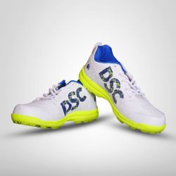 ExternalLink dsc cricket shoes beamer fluro yellow 22