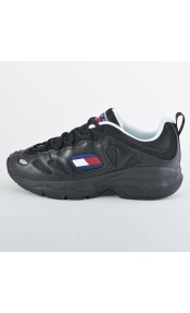 Tommy Jeans Retro Leather Trainers (9000036424_1469)