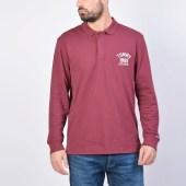 Tommy Jeans Chest Logo Longsleeve Polo (9000039619_3359)