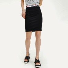 Tommy Jeans Logo Tape Fitted Bodycon Women'S Skirt (9000051017_1469)